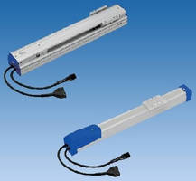 Single Axis Robot Actuators suit linear motion applications.