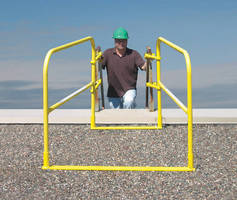 Rooftop Guard allows safe rooftop ingress and egress.