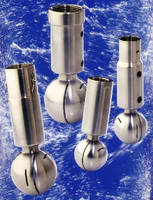 Rotary Spray Balls promote effective tank cleaning.