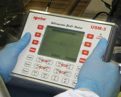 USM-3 Ultrasonic Bolt Meter Updates Faster for Data Recorders and Tool Controllers