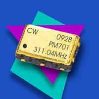 Crystal Controlled Oscilllators offer 2.5 or 3.3 V operation.