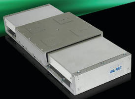 Unique Sealing System on Nutec Components, Inc. Stages Offers Enhanced Protection from Contaminated Environments
