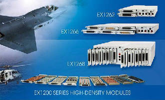 LXI Switch Modules meet test system requirements.