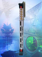 VME Board handles clock rates up to 500 MHz.
