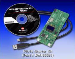 Starter Kit enables evaluation of 8-bit microcontrollers.