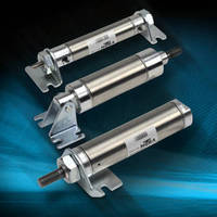 Pneumatic Air Cylinders feature 304 SS bodies.