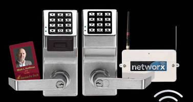 Lock Systems communicate wirelessly over network.