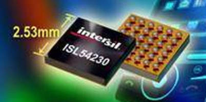 Octal Switch provides 8 kV ESD protection in cellphones.