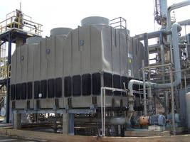 Plastic Cooling Tower 6-Packs Address Issue of Cooling Capacity