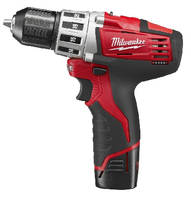 Cordless Drill/Driver features metal locking chuck.