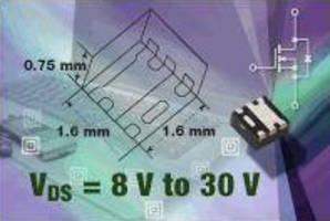 Power MOSFETs offer VDS range from 8-30 V.