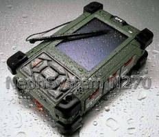Military-Grade PDA offers ruggedized, wireless features.