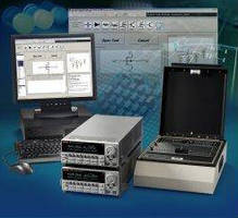 Testing Software is used with solar cells/PV panels/semiconductors.