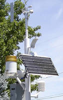 Weather Monitoring Stations can be powered by solar energy.