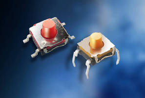 Tactile Switches withstand harsh automotive environments.