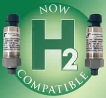 Sensors are approved for hydrogen pressure measurement.