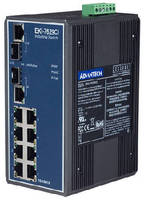 Industrial Ethernet Switches operate from -40 to +167°C.
