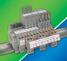 Terminal Blocks come in fuse disconnect and holder models.