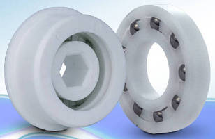 Plastic Ball Bearings have glass or stainless steel balls.