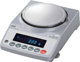 Precision Balances provide 1 second readings.