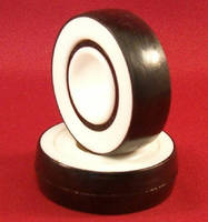 Plastic Bearings eliminate magnetic distortion.