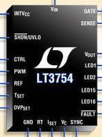 Multi-channel LED Driver has 3,000:1 True Color PWM dimming.