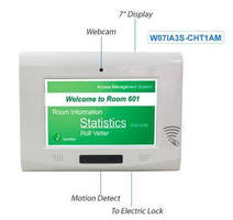 Access Management System features keyless design.