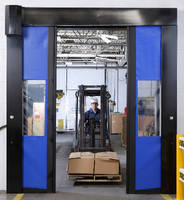 High-Speed Bi-Parting Doors promote productivity and safety.