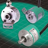 Incremental Encoders come in inch shaft and coupling sizes.