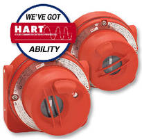 Flame Detectors are available with HART communications.
