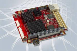 SBC features Intel® Atom(TM) Z5xx series processor.