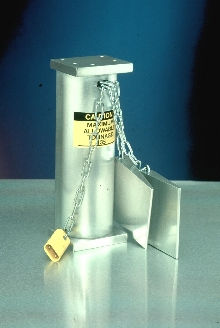 Safety Block System prevents stamping press operator injuries.