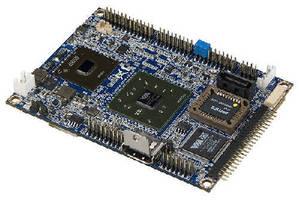 Pico-ITX Board provides fanless HD video playback.