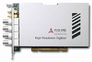PCI Digitizers offer high-resolution, 16-bit accuracy.