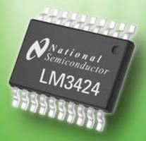LED Driver integrates temperature management control.