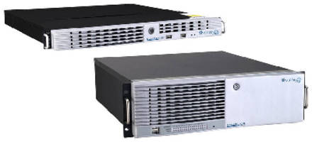 H.264-Ready DVRs offer network connectivity.