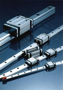 Linear Guides are self-aligning to absorb mounting errors.
