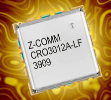 S-Band VCO features ultra low phase noise.