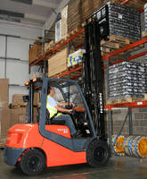 Forklift Trucks have counterbalanced design.