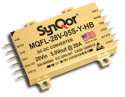DC/DC Converter complies with range of military standards.