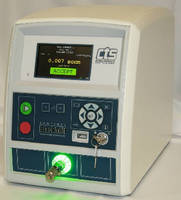 Precision Leak Tester has bench top form factor.
