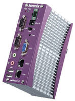Industrial Communication Computer includes CANbus port.