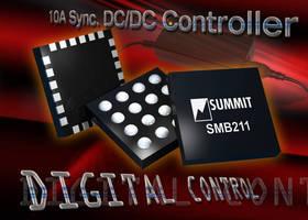 Synchronous DC/DC Controller offers digital power management.