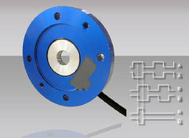 Magnetic Incremental Encoders offer max speed of 10,000 rpm.