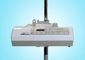 Syringe Pump is designed for portability.