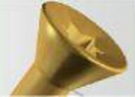 Concave Surface Screw Head simplifies screwdriver insertion.
