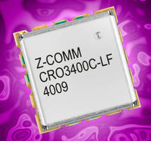 VCO features ultra low phase noise.