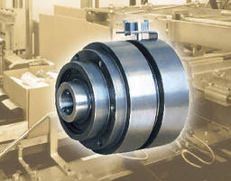 Pneumatic Torque Limiters provide overload protection.