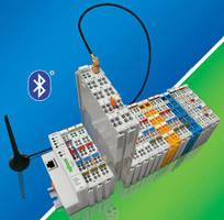 Bluetooth® RF-Transceiver speeds data exchange between I/O nodes.