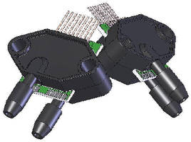 Dual Pressure Sensor measures absolute/differential sources.